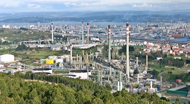 Paisaje industrial 1 - A Coruña