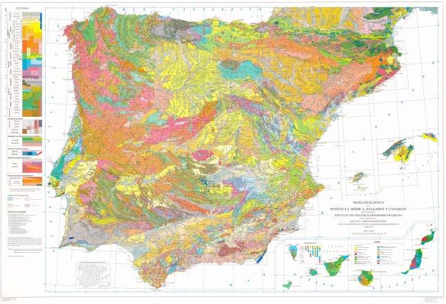 Mapa geológico de España