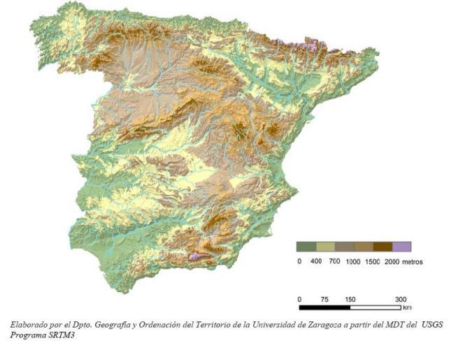 Relieve España