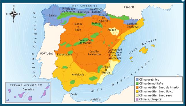 mapa-de-climas-de-espana