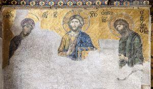 Mosaico de la Deesis de Santa Sofía