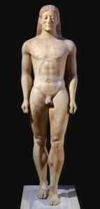 Kuros de Anavyssos. Grecia, período arcaico (s. VI a.C.)