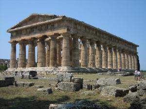 Templo de Poseidón.  Paestum (Sur de Italia/Magna Grecia). S. VI a.C.