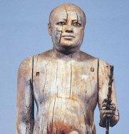Sheik el Beled (El Alcalde del Pueblo).  Egipto, c. 2.500 a.C.