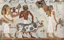 Frescos de la tumba de Amenemhet III.  Egipto, s. XV a.C.
