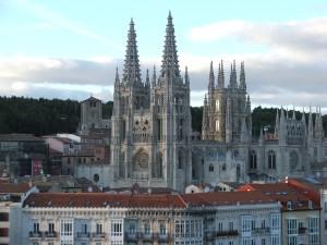 Catedral de Burgos. Gótico castellano de influencia francesa, siglo XIII.