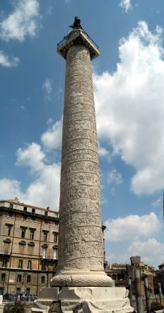 Complete view of Trajan's Column