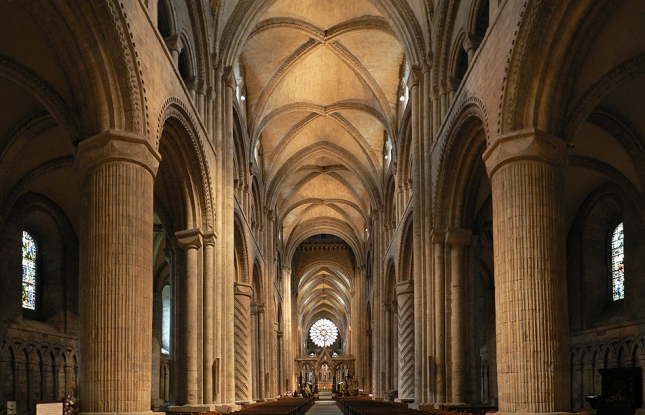 Durham_Cathedral._Interior