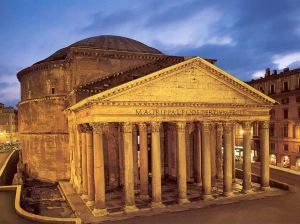 Panteon de Agripa.  Roma, s. I d.C.