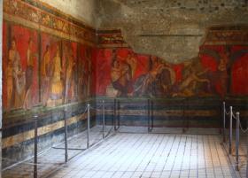 Frescos Villa de los Misterios