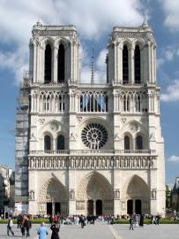 Catedral de Notre Dame de Paris.  Gótico, finales del s. XII.