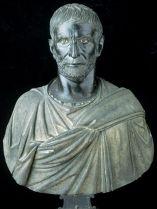 Retrato de Lucio Junio Bruto.  Roma c. 300 a.C.