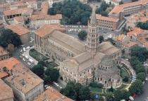 San Sernin de Toulouse.  Románico, s. XI.