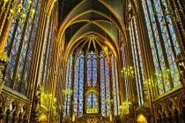 Sainte Chapelle de Paris. Gótico, s. XIII.