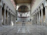 Basílica de Santa Sabina (Roma).  Arte Paleocristiano, s. V.