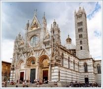 Catedral de Siena.  Gótico Italiano, S. XIII.