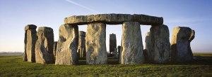 Crómlech de Stonehenge (Gran Bretaña). Edad del bronce (c. 2000 - 2.500 a.C.)