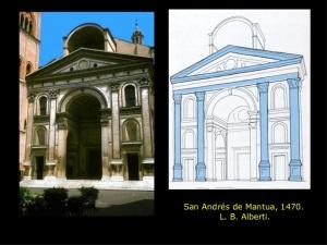 fachada San Andrés de Mantua