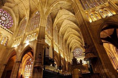 Interior Catedral de León