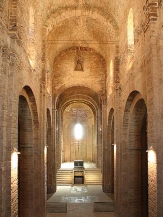 San Vicente de Cardona (Barcelona). Interior