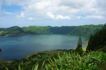 Laguna volcánica de Sete Cidades (Azores - Portugal)