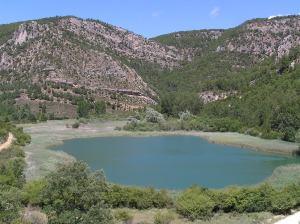 Laguna cárstica de Taravilla (España)