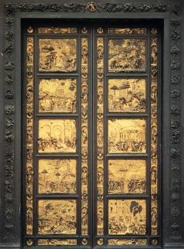 Puerta del Paraíso. Baptisterio de la Catedral de Santa Maria del Fiore