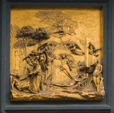 Panel de la Creación y la Expulsión del Paraíso