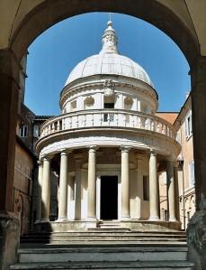 Bramante. Templete de San Pietro in Montorio (Roma)
