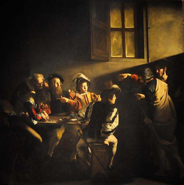 Caravaggio - vocación de San Mateo
