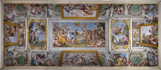 carracci-triiunfo de Baco y Ariadna