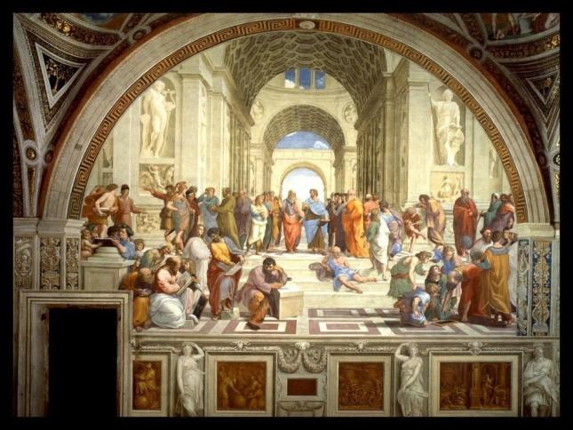 Escuela de Atenas