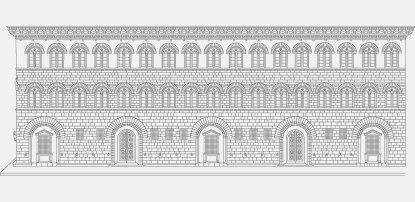 Palacio Medici-Riccardi. Michelozzo