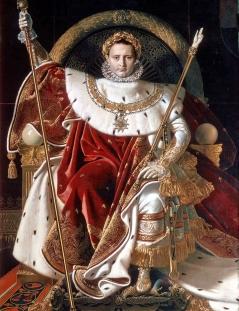 Ingres. Napoleón entronizado