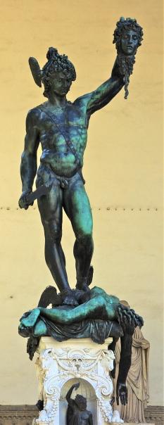 Benvenuto Cellini. Perseo con la cabeza de Medusa