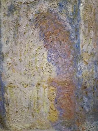 Monet. Catedral de Rouan (detalle)