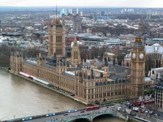 Barry y Pugin. Palacio de Westminster (el Parlamento). Londres