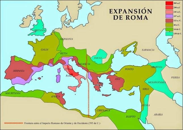 Expansión Imperio Romano