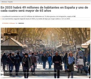 noticia poblacion española