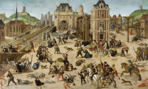 Matanza de protestantes (hugonotes) en Francia